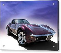 Purple Stinger Acrylic Print by Douglas Pittman