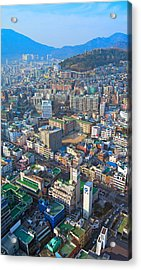 Pusan City South Korea 2012 Acrylic Print by Eduard Kraft