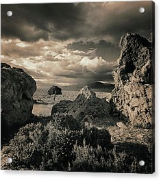 Pyramid Lake, Nevada, Usa Acrylic Print by Mel Curtis