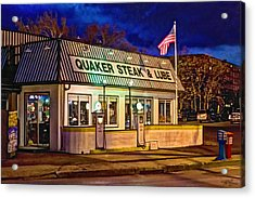 Quaker Steak And Lube Acrylic Print by Skip Tribby