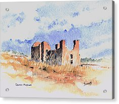 Quarari Mission Acrylic Print by Sam Sidders