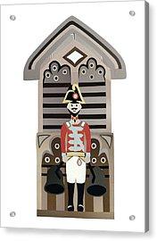 Quarterjack Acrylic Print by Isobel Barber