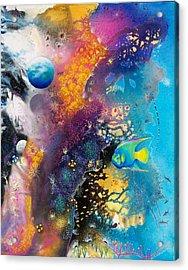 Queen Of The Reef Acrylic Print by Lee Pantas