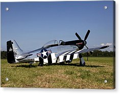 Quick Silver Geneseo Acrylic Print by Peter Chilelli