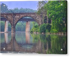 Quiet River Acrylic Print by Bill Cannon