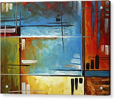 Quiet Whispers By Madart Acrylic Print by Megan Duncanson
