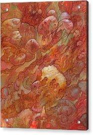 Quintigulated  Acrylic Print by Ethan Harris