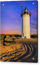 Race Point Light Provincetown Ma Acrylic Print by Susan Candelario