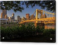 Rachel Carson Bridge Acrylic Print by Rick Berk