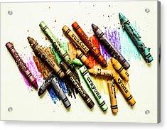 Rainbow Shades Acrylic Print by Jorgo Photography - Wall Art Gallery