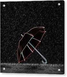 Rainy Night  Acrylic Print by Art Spectrum