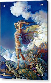 Rapture And The Ecstasea Acrylic Print by Patrick Anthony Pierson