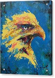 Rare Eagle Acrylic Print by John Henne