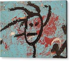 Rastaman Acrylic Print by Pat  Lackenbauer