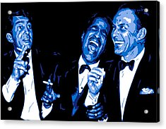 Rat Pack At Carnegie Hall Acrylic Print by DB Artist