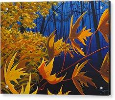 Raucous October Acrylic Print by Hunter Jay