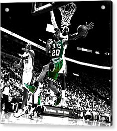 Ray Allen 2c Acrylic Print by Brian Reaves