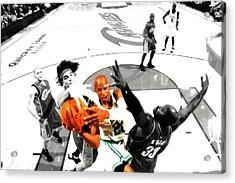 Ray Allen Acrylic Print by Brian Reaves