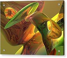 RBG Acrylic Print by Scott Piers