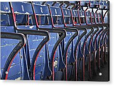 Ready For Red Sox Acrylic Print by Donna Shahan