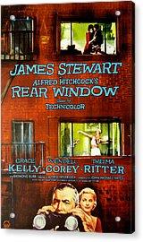 Rear Window, Grace Kelly, James Acrylic Print by Everett