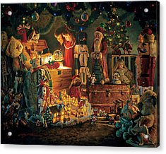 Reason For The Season Acrylic Print by Greg Olsen