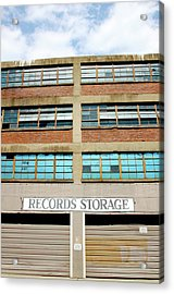 Records Storage- Nashville Photography By Linda Woods Acrylic Print by Linda Woods