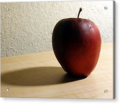 Red Apple Acrylic Print by Eric Forster