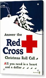 Red Cross Poster, C1915 Acrylic Print by Granger