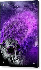Purple Days Acrylic Print by Wendy White