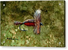 Red Humpy Acrylic Print by Sean Seal