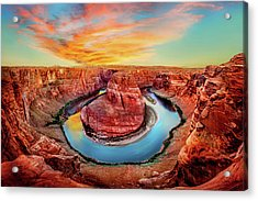 Red Planet Acrylic Print by Az Jackson