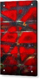 Red Scare Acrylic Print by Skip Hunt