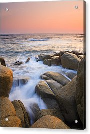 Red Sky At Morning Acrylic Print by Mike  Dawson