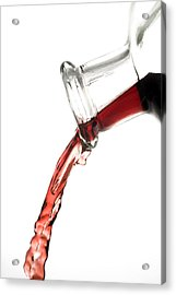 Red Wine Acrylic Print by Frank Tschakert