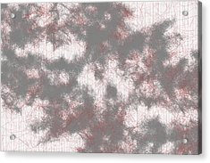 Red.225 Acrylic Print by Gareth Lewis