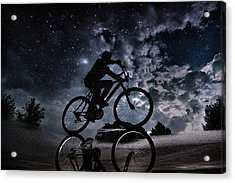 Reflected In The Stars... Acrylic Print by Antonio Grambone