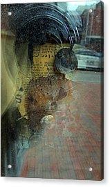 Reflection 1 Acrylic Print by Marcia L Jones
