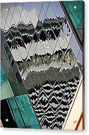 Reflections At Niagara Acrylic Print by Elizabeth Hoskinson