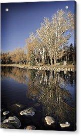 Reflections Of Henderson Acrylic Print by Tom Buchanan