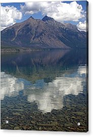 Reflections On The Lake Acrylic Print by Marty Koch