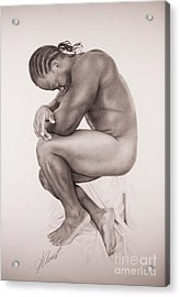 Reflexion Acrylic Print by Alex Chinea Pena