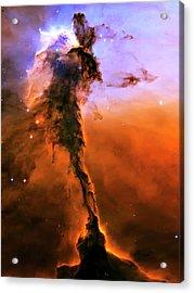 Release - Eagle Nebula 2 Acrylic Print by The  Vault - Jennifer Rondinelli Reilly