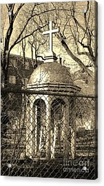 Religion Acrylic Print by Reb Frost