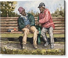 Remembering The Good Times Acrylic Print by Sam Sidders