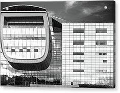 Rensselaer Polytechnic Institute Empac Acrylic Print by University Icons