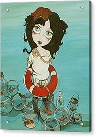 Rescue Mission Acrylic Print by Dania Piotti
