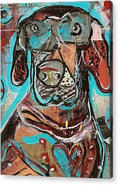 Rescued Heart Acrylic Print by Robert Wolverton Jr