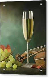 Restaurant Menu Paintings Acrylic Print by Michael Greenaway