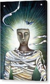 Resurrection Acrylic Print by Gloria Cigolini-DePietro